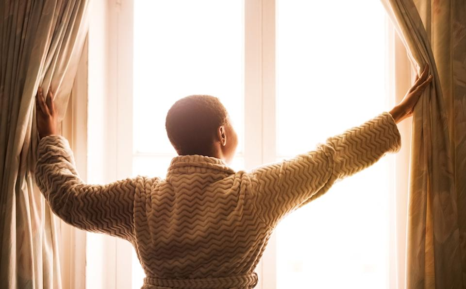 Be realistic about how much you can dedicate to your morning routine. (Photo: NickyLloyd via Getty Images)
