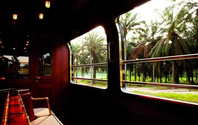 The luxurious Eastern & Oriental Express starts in Singapore and ends Bangkok Source: Supplied