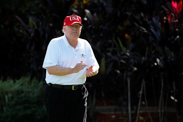 Almost Obese Trump Plans To Lose 10 To 15 Pounds But Is No Fan Of Exercise Except Golf