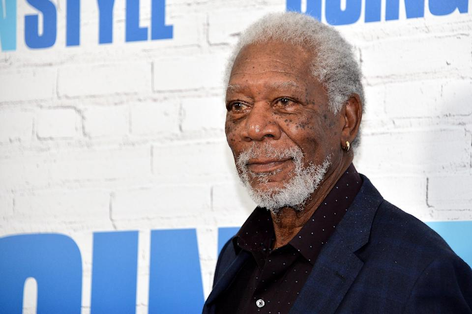 Morgan Freeman attends the <em>Going in Style</em> New York premiere on March 30, 2017. (Photo: D Dipasupil/FilmMagic)