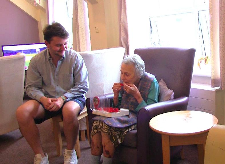 Lewis Hornby came up with the sweets while caring for his  grandma Pat. (SWNS)