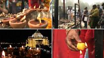 Indians celebrate Diwali, the festival of lights, with the shadow of coronavirus looming over the nation