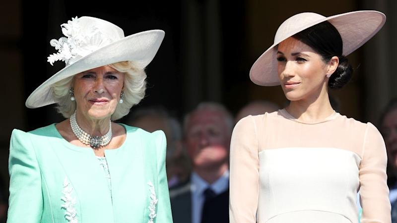 Camilla, Duchess of Cornwall, Opens Up About Meghan Markle and Prince Harry's 'Uplifting' Royal Wedding