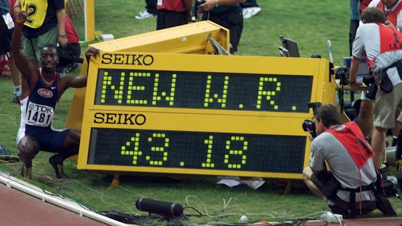 IAAF World Championships: Powell, Dibaba and Bolt among the greatest moments