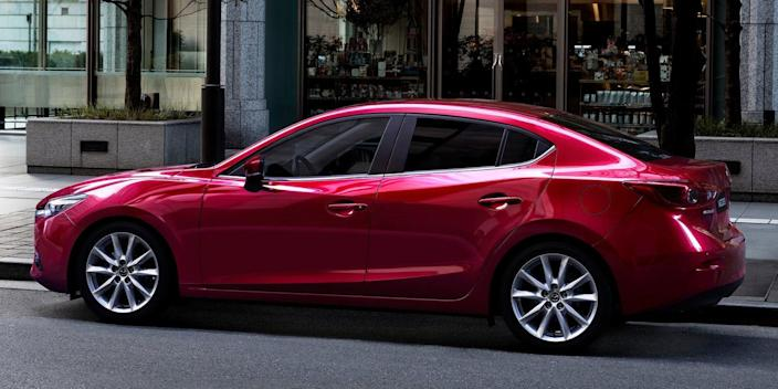 "<p>With an automatic transmission, a Mazda3 equipped with the company's excellent 2.5-liter naturally aspirated four-cylinder <a href=""http://www.caranddriver.com/reviews/2017-mazda-3-25l-automatic-sedan-tested-review"" rel=""nofollow noopener"" target=""_blank"" data-ylk=""slk:should hit 60 mph in 6.8 seconds"" class=""link rapid-noclick-resp"">should hit 60 mph in 6.8 seconds</a>. More importantly, it's one of the most fun-to-drive cars in its segment.</p>"