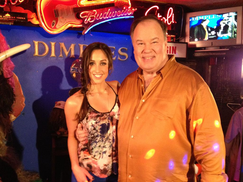 "Catherine Reitman and Dennis Haskins in VH1's ""Miss U Much."""