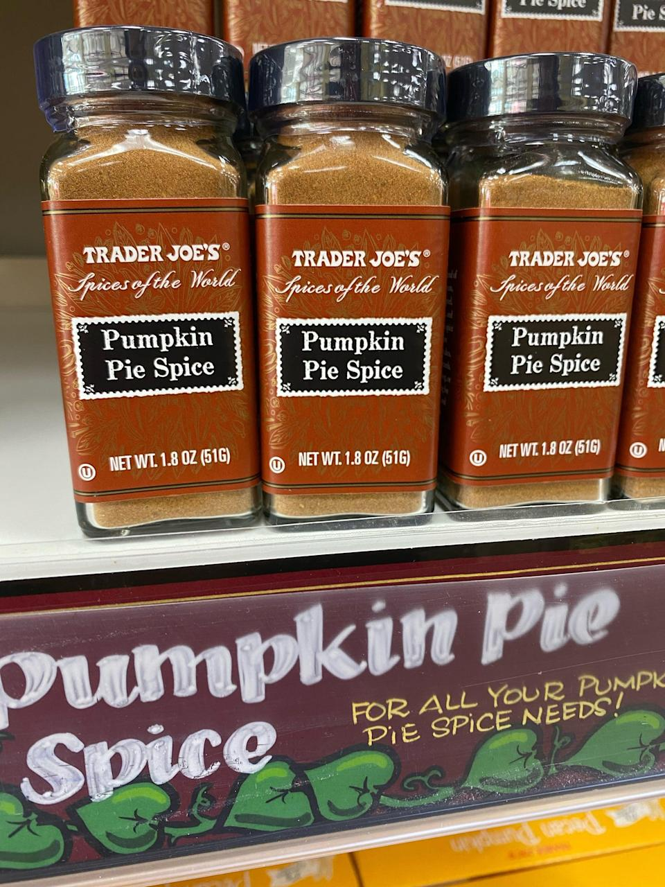 """<p>Of course you can use this to make a spice dessert like homemade pumpkin or apple pie, or <a href=""""https://www.popsugar.com/fitness/Healthy-Recipe-Apple-Pear-Oatmeal-Crisp-5911359"""" class=""""link rapid-noclick-resp"""" rel=""""nofollow noopener"""" target=""""_blank"""" data-ylk=""""slk:vegan apple pear crisp"""">vegan apple pear crisp</a>. But you can also sprinkle pumpkin pie spice over mashed sweet potatoes or roasted root veggies, like butternut squash or carrots.</p>"""