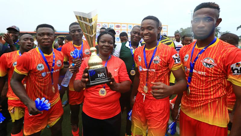 Ebuka David, Priscilla Vande & UAM Tillers win big at HiFL Elite Awards