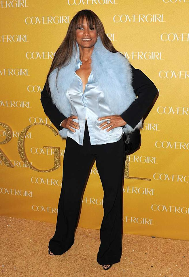 "Beverly Johnson helped to pave the way for other African-American women in fashion when she became the first black model to appear on the cover of <i>Vogue</i> in 1974. Unfortunately, while she's still gorgeous at age 58, it looks like she may have lost her sense of style along the way! Jordan Strauss/<a href=""http://www.wireimage.com"" target=""new"">WireImage.com</a> - January 5, 2010"