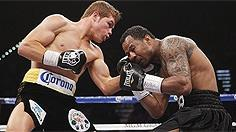 Video highlights of 'Sugar' Shane Mosley vs. Canelo Alvarez on May 5, 2012 in Las Vegas. (VIDEO COURTESY OF HBO SPORTS/HBO PAY-PER-VIEW).
