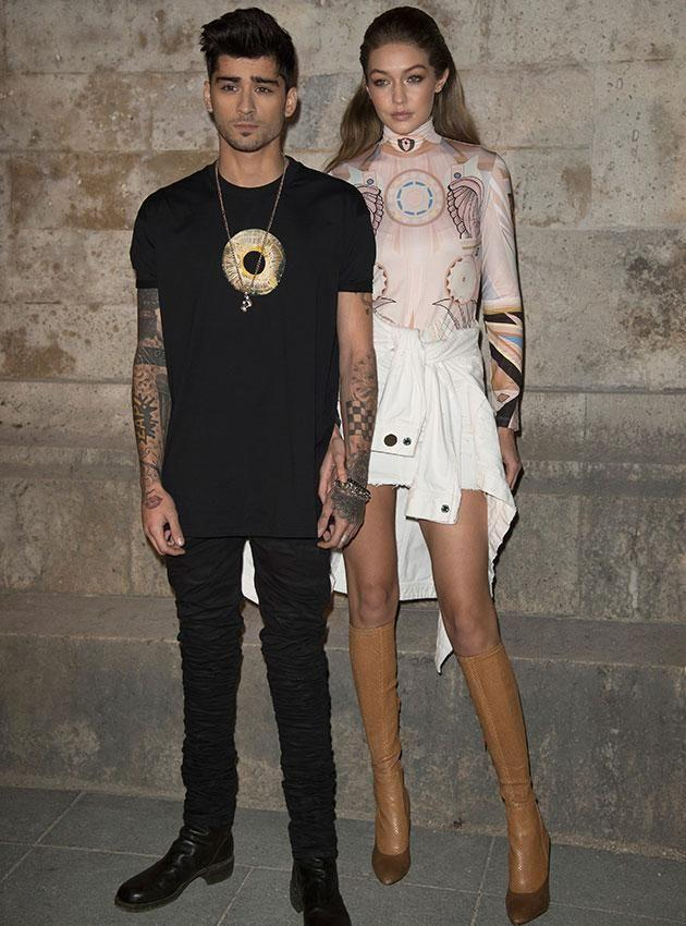 The former One Direction member now dates Gigi Hadid. Source: Getty