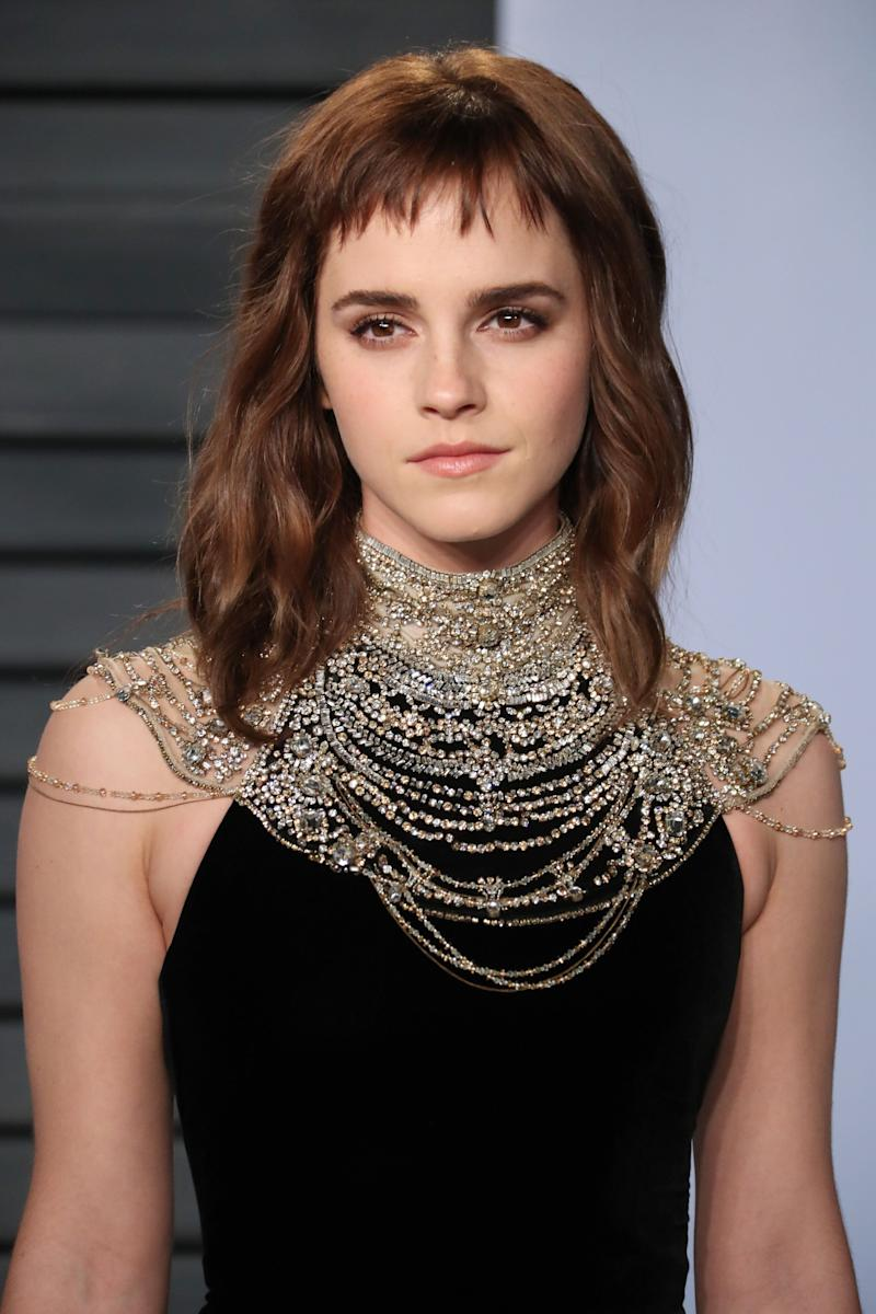 "Emma Watson has said she calls herself ""self-partnered""  (Photo: Matt Baron/Shutterstock)"