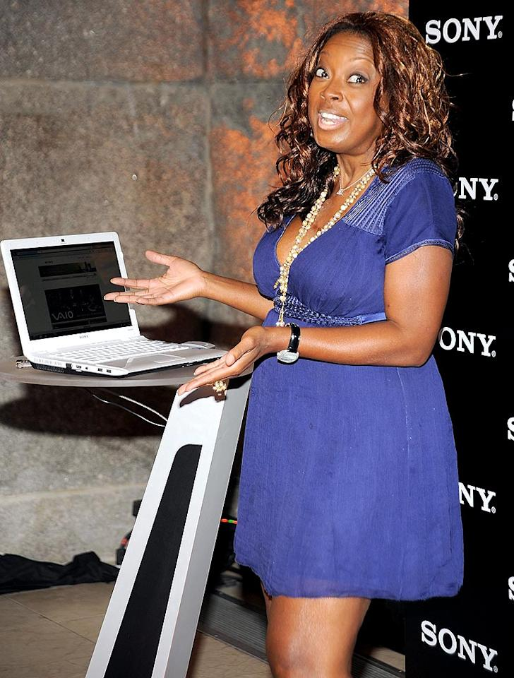 "Former ""View"" co-host Star Jones didn't look half bad, but her dress was a tad short. Gary Gershoff/<a href=""http://www.wireimage.com"" target=""new"">WireImage.com</a> - October 7, 2009"