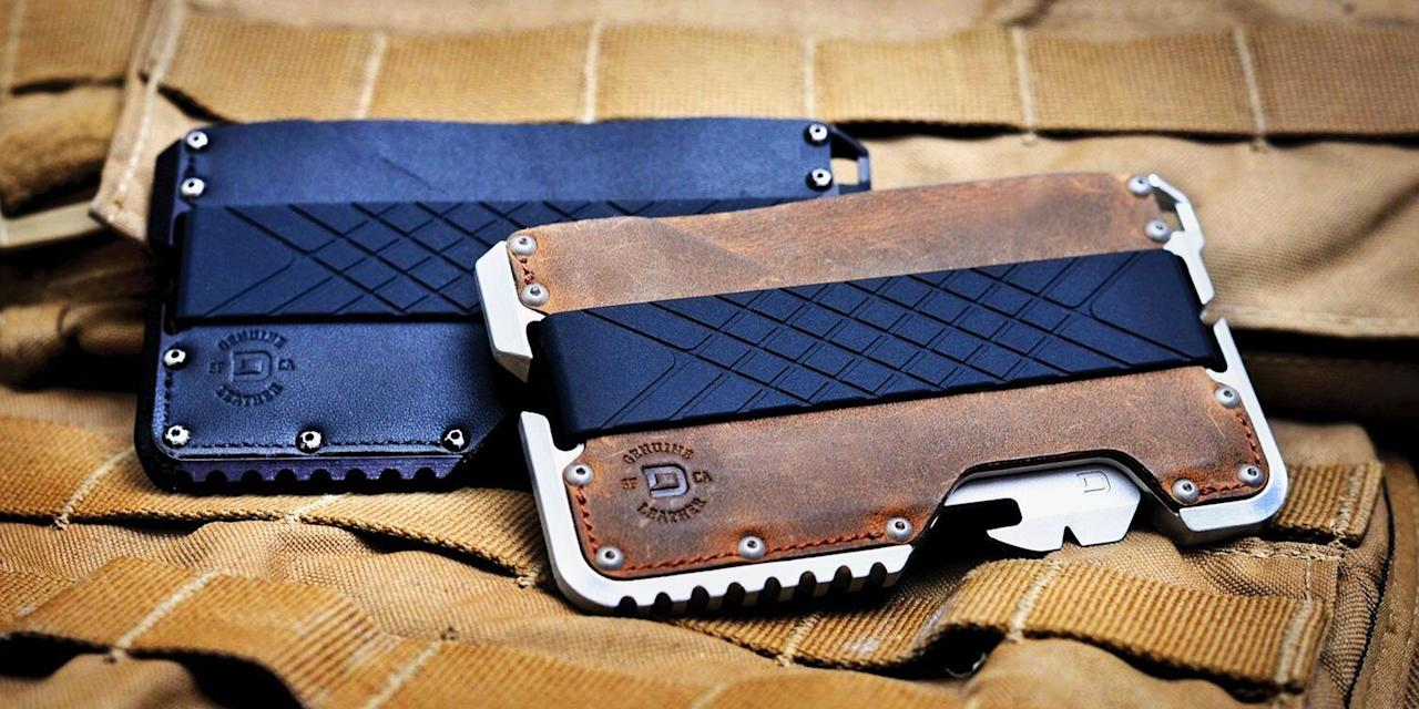 "<p>An essential everyday-carry item, tactical wallets are designed to store your cards (and cash) in a cool and minimalist fashion. </p><p>But our favorite wallets go beyond just carrying your money. Thank multi-tools to get mundane tasks done easier and <a href=""https://www.ridgewallet.com/blogs/news/do-you-need-an-rfid-wallet"" target=""_blank"">RFID-blocking tech</a> to protect your credit card and personal information. What's RFID, you ask? An abbreviation for radio-frequency identification, RFID technology is commonly used to store information in credit and identification cards. It's important to keep it safe, because it's a frequent target of identity thieves.</p><p>Check out the top tactical wallets worthy of a spot in your pocket.</p>"