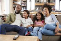 """<p>You've got more choices for streaming movies than ever (Amazon, Netflix, Hulu, Disney Plus, and more)—and also more time at home to watch. When you and your family need a break from life's stresses—and you've run out of <a href=""""https://www.countryliving.com/shopping/gifts/g27410985/best-board-games-for-kids/"""" rel=""""nofollow noopener"""" target=""""_blank"""" data-ylk=""""slk:best board games for kids"""" class=""""link rapid-noclick-resp"""">best board games for kids</a> to keep everyone entertained—a little screen time might just be exactly what you need to relax. If it's a laugh-out-loud comedy, even better! So go ahead—curl up on the sofa and queue up the best kids movies on Netflix. After all, who doesn't love a family movie marathon with <em>all</em> <a href=""""https://www.countryliving.com/food-drinks/g1565/easy-after-school-snacks/"""" rel=""""nofollow noopener"""" target=""""_blank"""" data-ylk=""""slk:the snacks"""" class=""""link rapid-noclick-resp"""">the snacks</a>?</p><p>While some of these are the very <a href=""""https://www.countryliving.com/life/entertainment/g25217168/best-classic-kids-movies/"""" rel=""""nofollow noopener"""" target=""""_blank"""" data-ylk=""""slk:best classic kids' movies"""" class=""""link rapid-noclick-resp"""">best classic kids' movies</a>, others are reaching vintage (we're looking at you, <a href=""""https://www.countryliving.com/life/entertainment/g24819426/best-90s-kids-movies/"""" rel=""""nofollow noopener"""" target=""""_blank"""" data-ylk=""""slk:'90s kids movies"""" class=""""link rapid-noclick-resp"""">'90s kids movies</a>!). Whether you settle on <a href=""""https://www.countryliving.com/life/entertainment/g24141940/kids-christmas-movies-netflix/"""" rel=""""nofollow noopener"""" target=""""_blank"""" data-ylk=""""slk:best Christmas movies for kids"""" class=""""link rapid-noclick-resp"""">best Christmas movies for kids</a> that resonate all year round (we swear by <em>The Grinch</em>) or new singalong favorites (<em>Shrek the Musical </em>is just the most fun), each of the following Netflix streaming picks will keep the whole family entertained. And """
