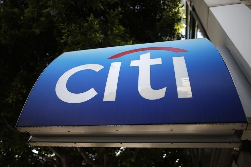 A Citibank ATM is seen in Los Angeles