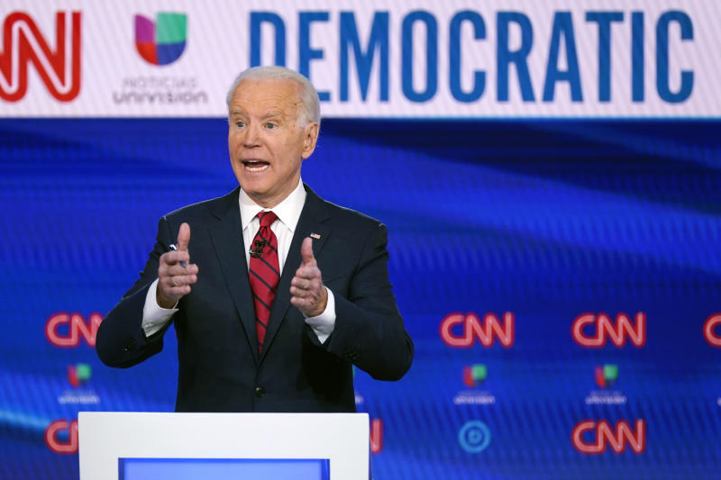 Biden Tells Clinton He Wishes She Was Running for Reelection