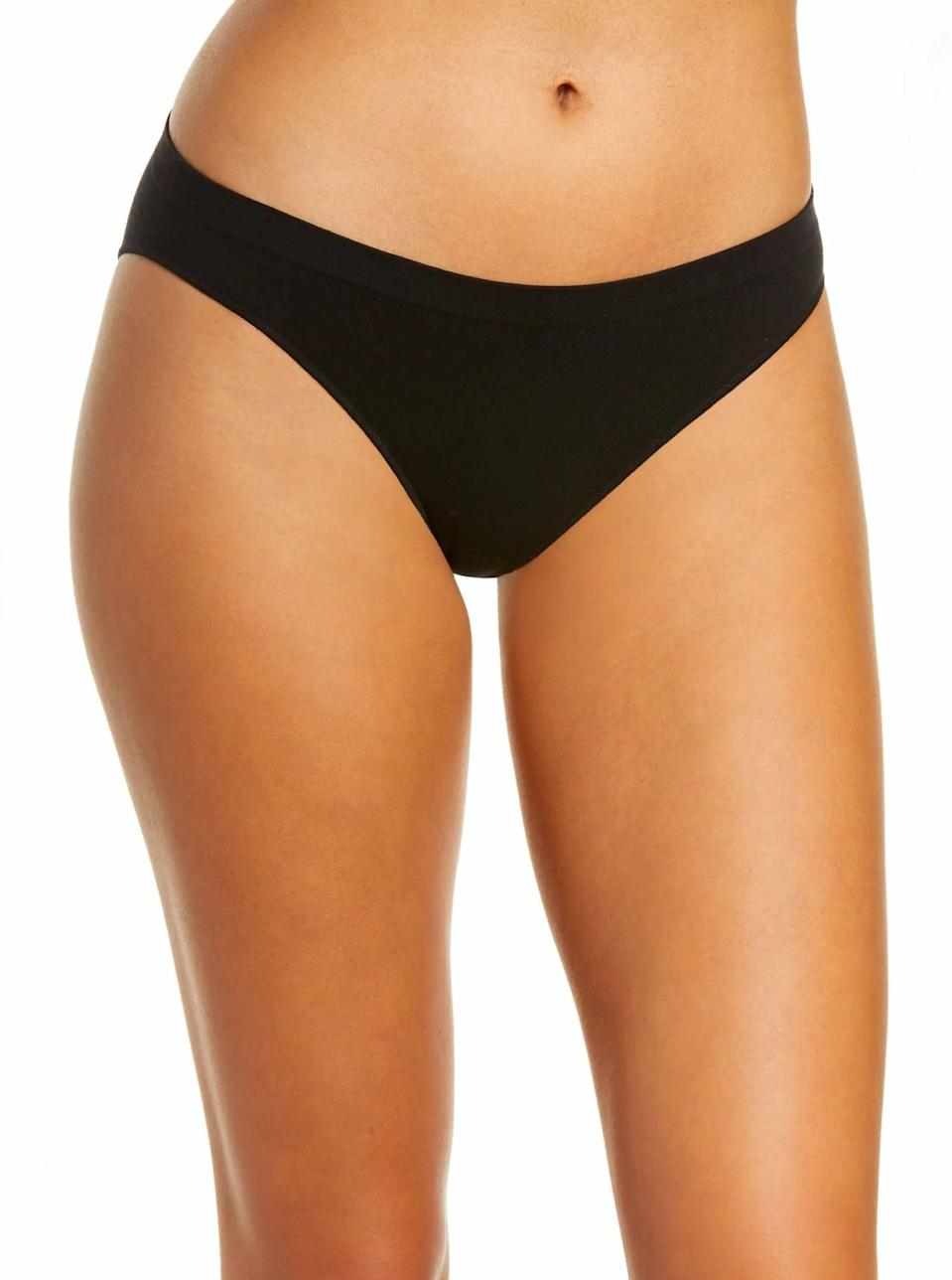 """Buttery soft, weightless, and a versatile fit—what's not to love about On Gossomer's cotton underwear? $20, Nordstrom. <a href=""""https://www.nordstrom.com/s/on-gossamer-cabana-cotton-seamless-bikini/5905796"""" rel=""""nofollow noopener"""" target=""""_blank"""" data-ylk=""""slk:Get it now!"""" class=""""link rapid-noclick-resp"""">Get it now!</a>"""