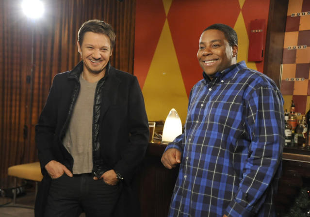 "Jeremy Renner hosts the eighth episode of ""Saturday Night Live"" Season 38."