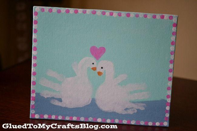 """<p>Kids create cherished keepsakes you'll want to save forever with this Valentine's Day craft. You'll need a canvas, paint, brushes — and most importantly of all, cute little hands.</p><p><em><a href=""""https://www.anightowlblog.com/swan-handprint-craft/"""" rel=""""nofollow noopener"""" target=""""_blank"""" data-ylk=""""slk:Get the how-to at A Night Owl Blog»"""" class=""""link rapid-noclick-resp"""">Get the how-to at A Night Owl Blog»</a></em><br></p>"""
