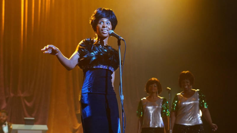 Cynthia Erivo as Aretha Franklin in the third season of biopic TV show 'Genius'. (Credit: National Geographic/Richard DuCree)