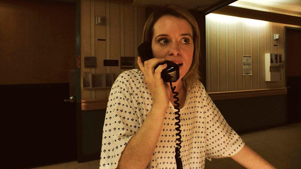 "Claire Foy in ""Unsane."" (Photo: Bleecker Street)"