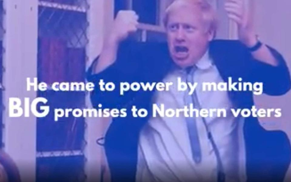Northern Tory MPs have been attacked over the party's handling of lockdown restrictions in Greater Manchester