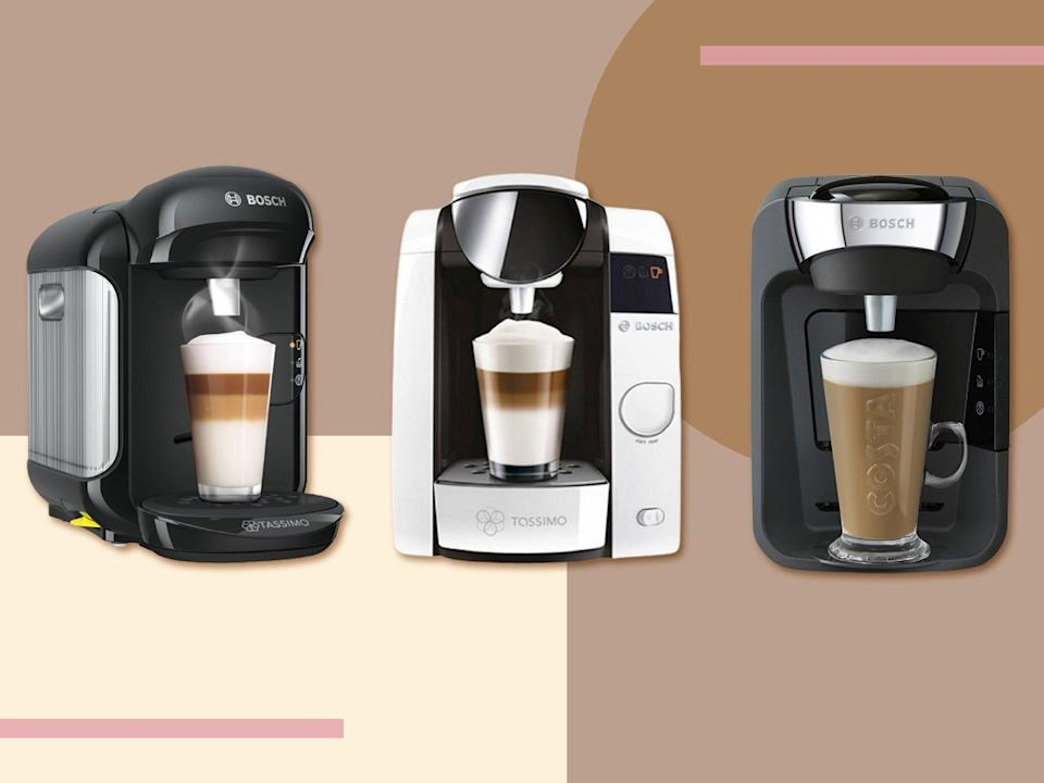 Whip up everything from speedy Americanos and lattes to teas and hot chocolate (The Independent)