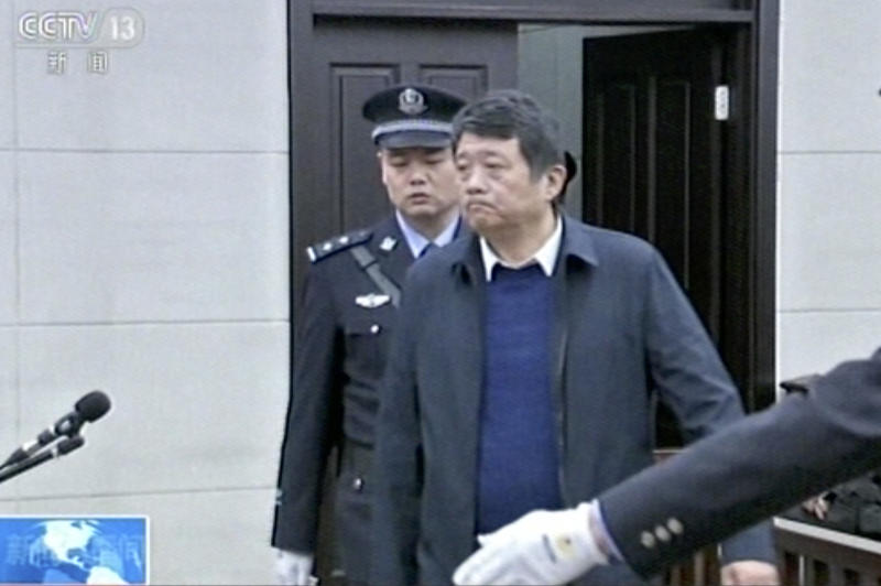China's Ex-intelligence Chief Jailed For Life