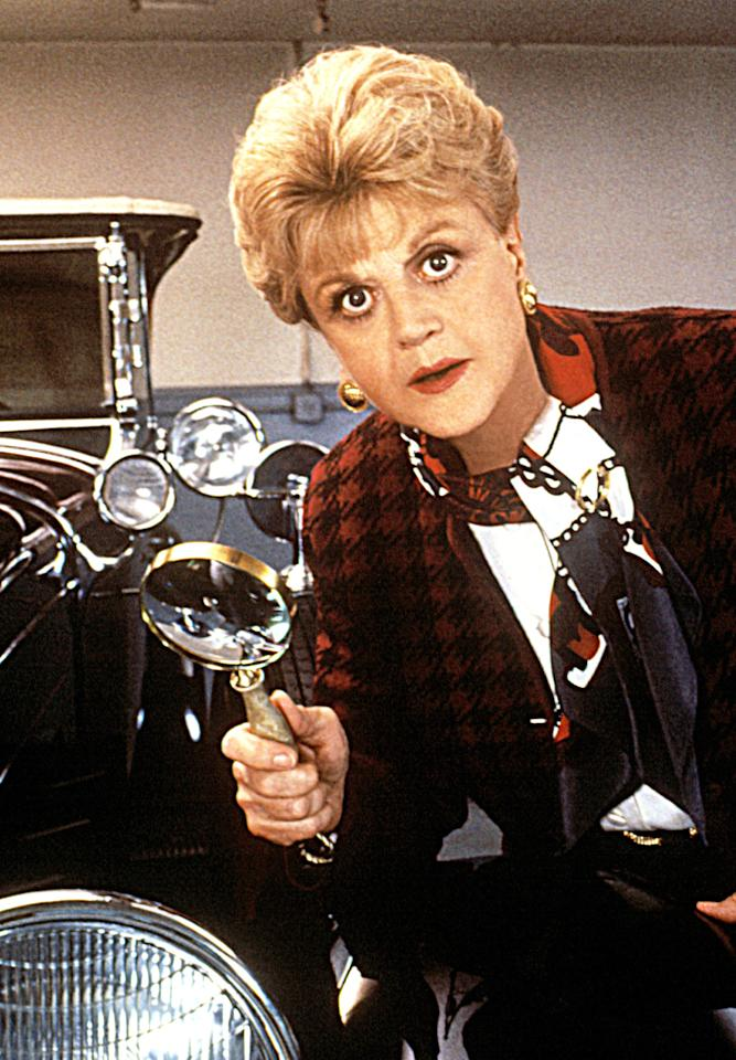 "<b>Angela Lansbury</b> as Jessica Fletcher, ""Murder, She Wrote"" (1984-1996)<br><br>Outstanding Lead Actress in a Drama Series<br><br>0 wins, 12 consecutive nominations (1985-1996)"