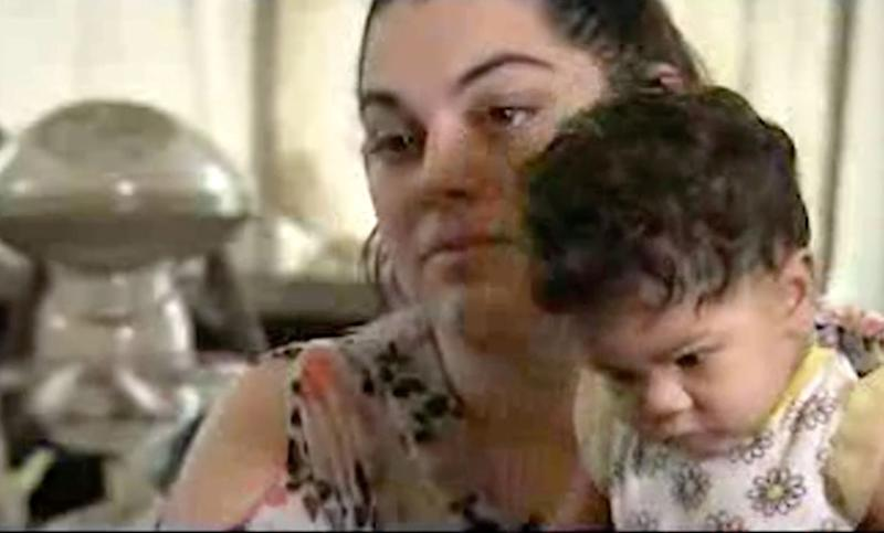 """Danielle Bell says a judge """"discriminated against"""" her because she was nursing her baby. (Photo: WRAL)"""
