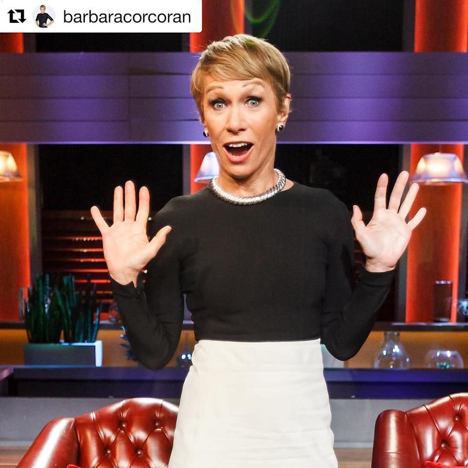 <p>#Repost @barbaracorcoran: The Sharks are taking over @yahootv's instagram! Make sure to click over for an exclusive look into #SharkTank! AND make sure to watch an all new episode of@sharktankabc tonight at 9/8C! ????:@tomyrivero_ (Credit: Instagram) </p>