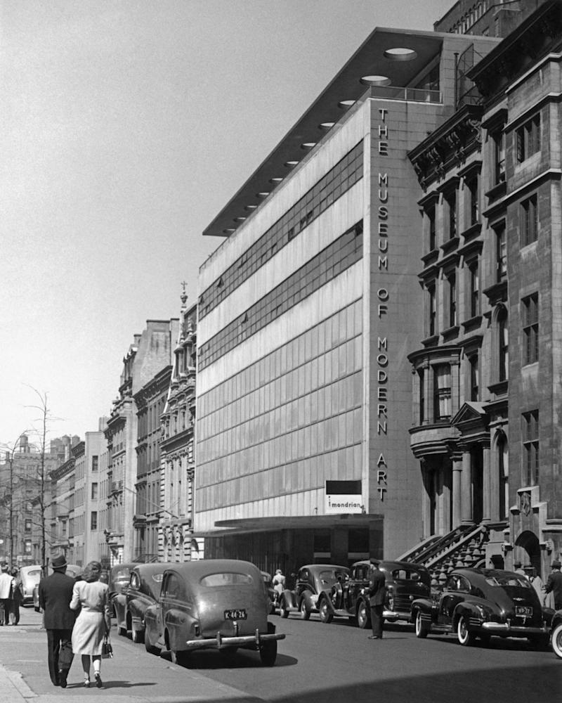 New York's Museum of Modern Art when it first opened its doors in 1939.