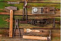 <p>Head out back to the shed and see if you have any old saws, hand drills, planes, or any other old tools that you think have seen better days, because there is a huge market for them, both for lovers of their aesthetics and for their continued usability. There are many price guides out there to teach you which ones to look out for.</p><p><strong>What it's worth: </strong>Up to $3,000<br></p>