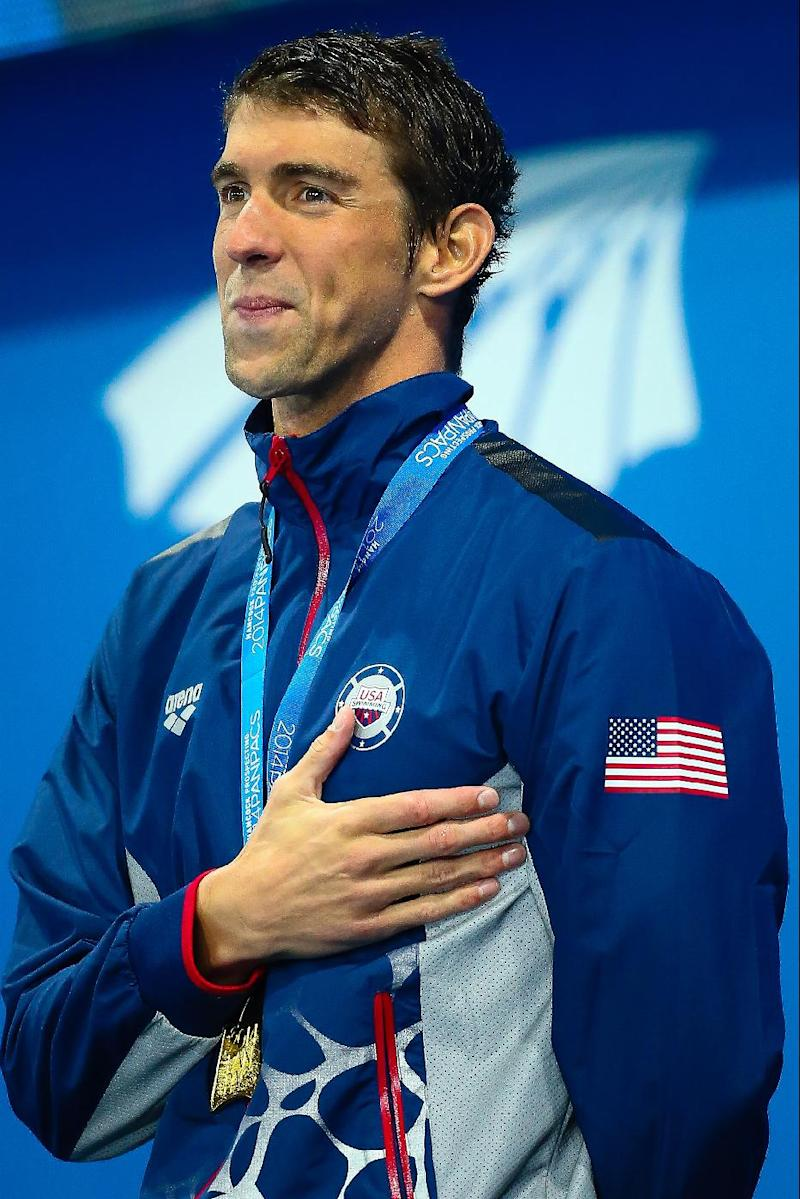 Swimming - Phelps on track after victorious return to Pan Pacs