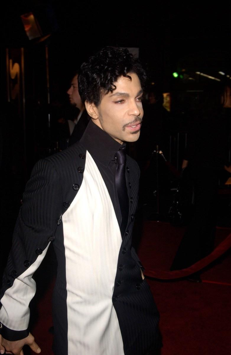 Singer and musician Prince