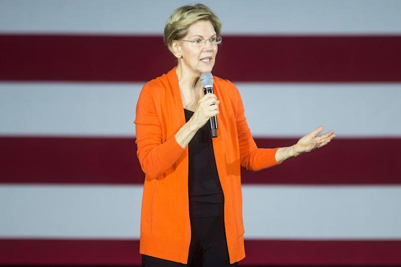 "Massachusetts Sen. Elizabeth Warren is promising to release a plan outlining how to fund for ""Medicare for All."" (Photo: Zach Gibson via Getty Images)"