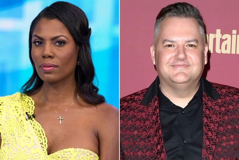 From left: Omarosa Manigault Newman and Ross Mathews | Zach Pagano/NBCU Photo Bank/NBCUniversal via Getty; Andrew Toth/Getty