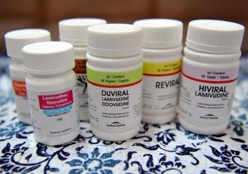 Antiretroviral medicine are dislayed at a government hospital specialising in HIV/AIDS in the Philippines in 2010. The availability of antiretroviral drugs in low and middle income nations grew by more than 20% from 2010 to 2011, said a report issued ahead of the International AIDS Conference