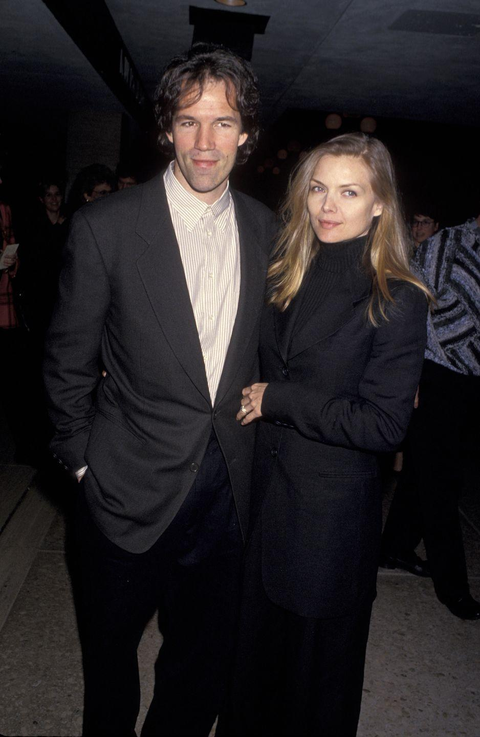<p>Pfeiffer and Kelley met and married in 1993.</p>