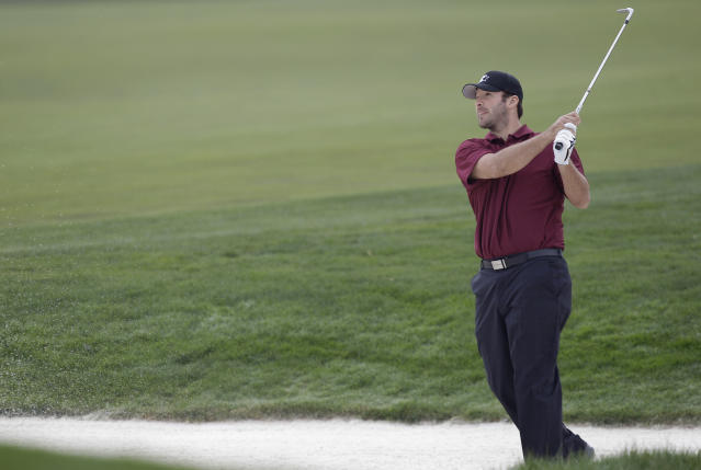 Tony Romo finds himself in the envious position of being able to casually turn down a six-figure payday after winning a golf tournament. (AP)
