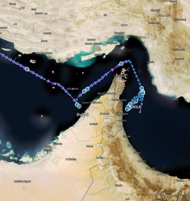 Iran Briefly Seizes Oil Tanker Near Strait of Hormuz