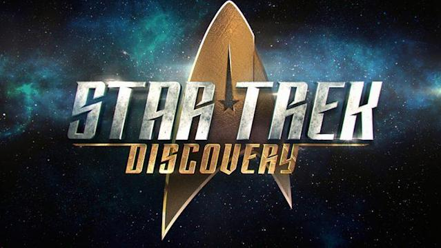 The official logo of <i>Star Trek: Discovery</i>. (Image: CBS)