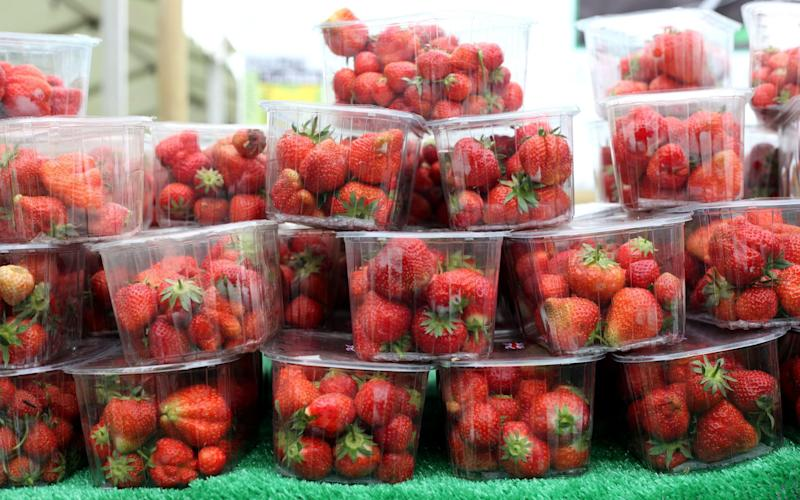 Asdahas started sneaking bruised and wonky strawberries into standard punnets - Clara Molden