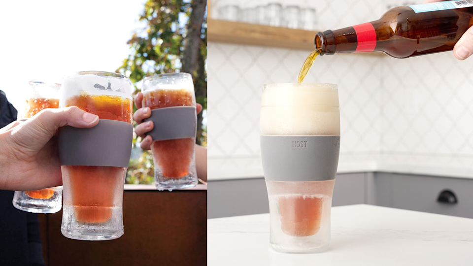 Best gifts for dads: Cooling Pint Glasses