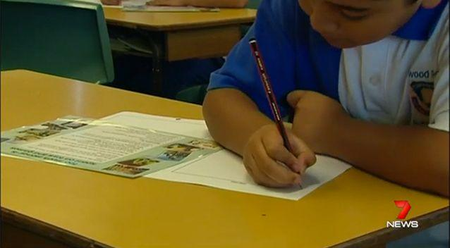 The Board of Studies said 90 per cent of home-schooled children had not undergone NAPLAN testing between 2008 and 2013. Photo: 7 News
