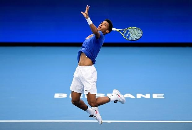 Auger-Aliassime, Shapovalov enter record books with victory at inaugural ATP Cup