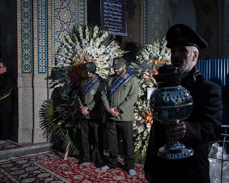 At the shrine to Shah Abdol Azim in Tehran, a special ceremony was held on Jan. 8. | Newsha Tavakolian—Magnum Photos for TIME