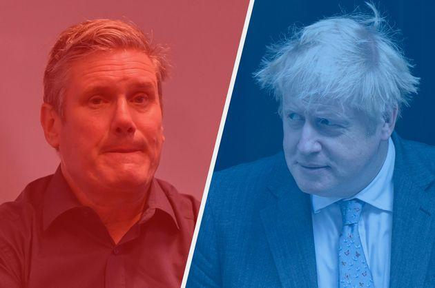 Labour leader Keir Starmer and Prime Minister Boris Johnson will both make speeches at the end of their party conferences. (Photo: Getty Images)