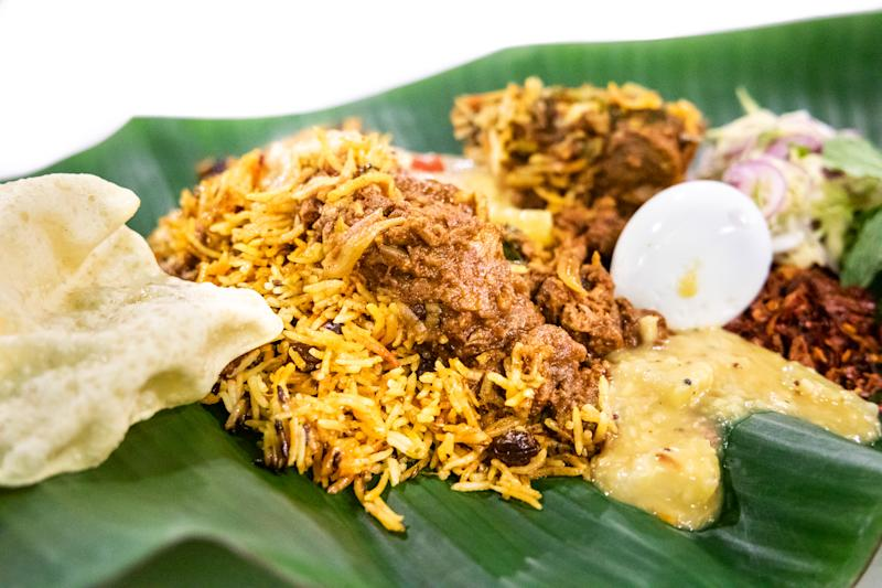 File Photo: Delicious nasi briyani with lamb mutton served on banana leaf plate, popular food in Malaysia. (Photo: Getty Images)
